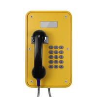 Buy cheap Watertight Industrial Analog Phone Corrosion Resistant With LCD Display from Wholesalers