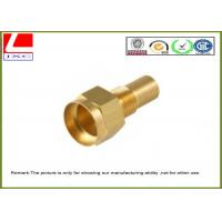 Quality High precision Lathe Turning Brass Machined Parts For motorcycle spare parts wholesale