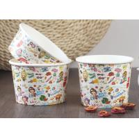 Buy cheap 200ml 100% Biodegradable Branded Ice Cream Cups Single Wall Eco - Friendly from Wholesalers
