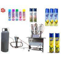 Quality Semi Automatic Aerosol Filling Machine, Air Freshener Aerosol Spray Filling Machine wholesale
