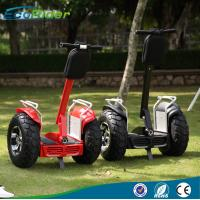 Buy cheap 4000 Watt Double Battery 2 Wheel Segway Electric Scooter for adults , 20KM/H Max Speed from Wholesalers