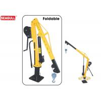 Buy cheap HW1000 boom truck crane Manual Jib Crane Swivel 360 Degree capacity 500kg-1000kg from Wholesalers
