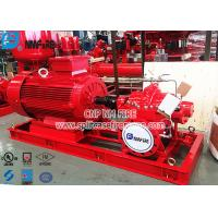 Buy cheap NFPA20 Standard Electric Motor Driven Fire Pump Set , Ul Fm Pump For Fire Fighting Use from wholesalers