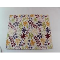Buy cheap Durable Waterproof Polyester / Canvas Dining Table Mats Custom Placemats from Wholesalers