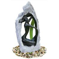 Buy cheap Outside Garden Statue Water Fountains With Fiberglass / Cement / Magnesia Material from Wholesalers