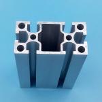 Buy cheap 20mm X 40mm Black Aluminium Window Door Frames High Precision Machining from Wholesalers