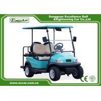 Buy cheap Front / Rear 4 Seats Electric Golf Carts , Battery Powered Electric Caddy Carts from wholesalers