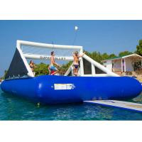 Buy cheap 0.9 mm PVC Tarpaulin Inflatable Water Game / Inflatable Volleyball Game from wholesalers