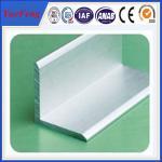 Buy cheap aluminium angle profile 80mm*80mm*6mm angle aluminium profile from Wholesalers