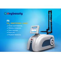 Buy cheap OEM&ODM Portable F5 Medical Co2 Fractional Laser Machine For Skin Resurfacing , Scar Removal from Wholesalers