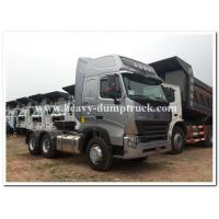 Buy cheap CHINA Howo  375 HP / 420 HP  heavy prime mover / tractor head  with air deflector and ABS from wholesalers