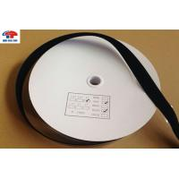 Buy cheap Black Self stick Hook and Loop Tape , touch tape hook and loop 1 inch custom shape from Wholesalers