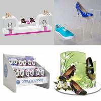 New Round Clear Acrylic Shoe Display Box /Customized Acrylic Shoes Display Box