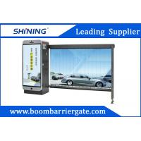 Quality Outdoor 5S Automatic Traffic Boom Barrier Advertising Barriers wholesale
