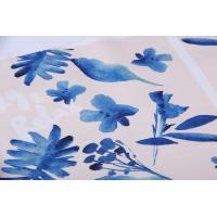 Buy cheap Digital Inkjet Printing / Cotton Canvas Fabric With Beautiful Pattern from Wholesalers