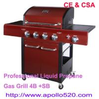 Buy cheap Professional Liquid Propane Gas Grill 4B +SB from Wholesalers