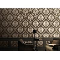Buy cheap Classical 1.06m Home Decoration Wallpaper Korean Style With Damsk Pattern , Eco Friendly from Wholesalers