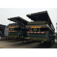 Buy cheap 3 FUWA BPW axles 20ft 40ft platform shipping container flatbed cargo semi trailer for sale from Wholesalers