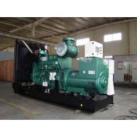 Buy cheap Electronic Cummins Diesel Generators With Water Cooling, 800KW, 3 phase,50HZ,open type from wholesalers