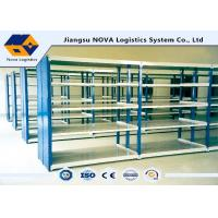 Quality Industry Selective Mobile Shelving Systems Heavy Duty With Lock In Step Beam wholesale