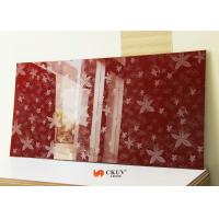 Buy cheap White / Red / Black Embossed 3D MDF Board Interior Decorative Wall Panels from Wholesalers