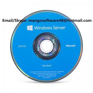 Original Authentic Microsoft Windows Server Standard 2012 R2 64 Bit DVD 5 Cals