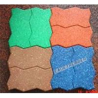 Buy cheap perfect recycled rubber flooring brick from Wholesalers