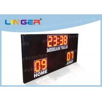 Quality High Brightness Football Electronic Scoreboard Outdoor For University wholesale