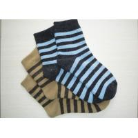 Buy cheap Comfortable Pithiness Striped Wool Socks Novelty With Hand Link from Wholesalers