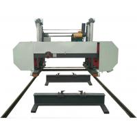 Buy cheap Big wood log bandsaw sawmill,Large horizontal diesel band saw mill from wholesalers