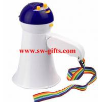 Buy cheap New Arrival High Quality Mini Portable Megaphone Foldable Bullhorn Handheld Grip Loud Clear Voice Amplifier Loudspeaker from wholesalers