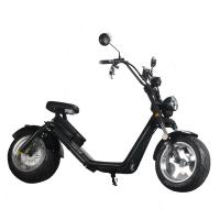 Quality EcoRider Two wheel fat tire caiqiees citycoco electric scooter with EEC certificate wholesale