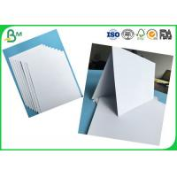 Buy cheap Tear Resistant 400g -1000g Double Coated Duplex Board Glossy For Printing With White Color from wholesalers