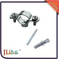 Buy cheap Durable Double Bolt Large Diameter Pipe Clamps Anti Corrosion Environment Friendly from Wholesalers