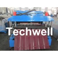 Buy cheap Automatic Color Steel Roof Tile Roll Forming Machine With 11 Kw Hydraulic Motor Power from Wholesalers