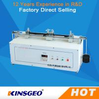 Buy cheap AC 220V 50Hz 400W Portable Fabric / Textile Testing Equipment with Manual Automatic Operation from wholesalers