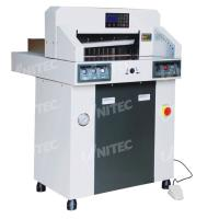 Quality 380.0kgs Hydraulic Computerized Paper Cutter 480mm Table Depth 480HP for sale