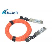 Buy cheap SFP-10G-AOC 1M 2M 5M Active Optical Cable 10G SFP+ to SFP+ OEM Welcomed from wholesalers