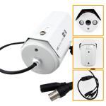 Low Illumination IR Array Analog CCTV Camera 700TVL High resolution with OSD Menu