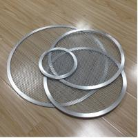 Buy cheap Aluminum Expanded Mesh Wire Pizza Baking Tray , Metal Pizza Net 6-20 Inch Customized from Wholesalers