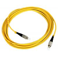 Buy cheap FC Fiber Optic Patch Cord Low insertion loss high return loss from Wholesalers