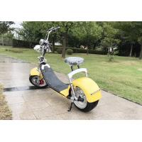 Buy cheap Big Two Wheels Electric Motorcycle Scooter Citycoco Electric 2 Wheel Scooter 1000W 60V from wholesalers