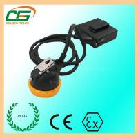 Buy cheap Mini 3.7 V LED Mining Cap Lamp 6.5Ah 10000 Lux With Low Power Indication from Wholesalers