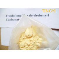 Buy cheap Yellow Crystalline Trenbolone Hexahydrobenzyl Carbonate Powder Injectable CAS 23454-33-3 For Muscle Gain from wholesalers