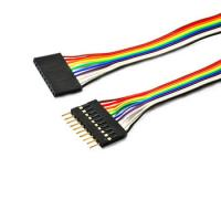Flat Ribbon Cable Custom Made Length SM - 8Y San Connector 2.54mm Pitch