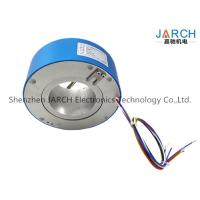 Buy cheap 380V 4 ~ 72 Conductors 90mm Through Bore High Voltage Slip Rings For Wrapping Machinery Max Speed:500RPM from Wholesalers