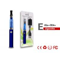 Buy cheap 900mAh 900Puffs Colorful EGO CE4 Electronic Cigarette Tank Atomizer from Wholesalers