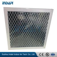 Light Weight HVAC Air Filters , High Efficiency G3 G4 Pleated Panel Air Filters