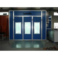 Buy cheap Environmental Protect Side Draft Paint Booth With 4kw Exhaust Fan from Wholesalers