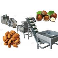 Buy cheap Drying Hazelnut Cashew Nut Shell Breaking Machine For Industry , 500 Kg/H from Wholesalers